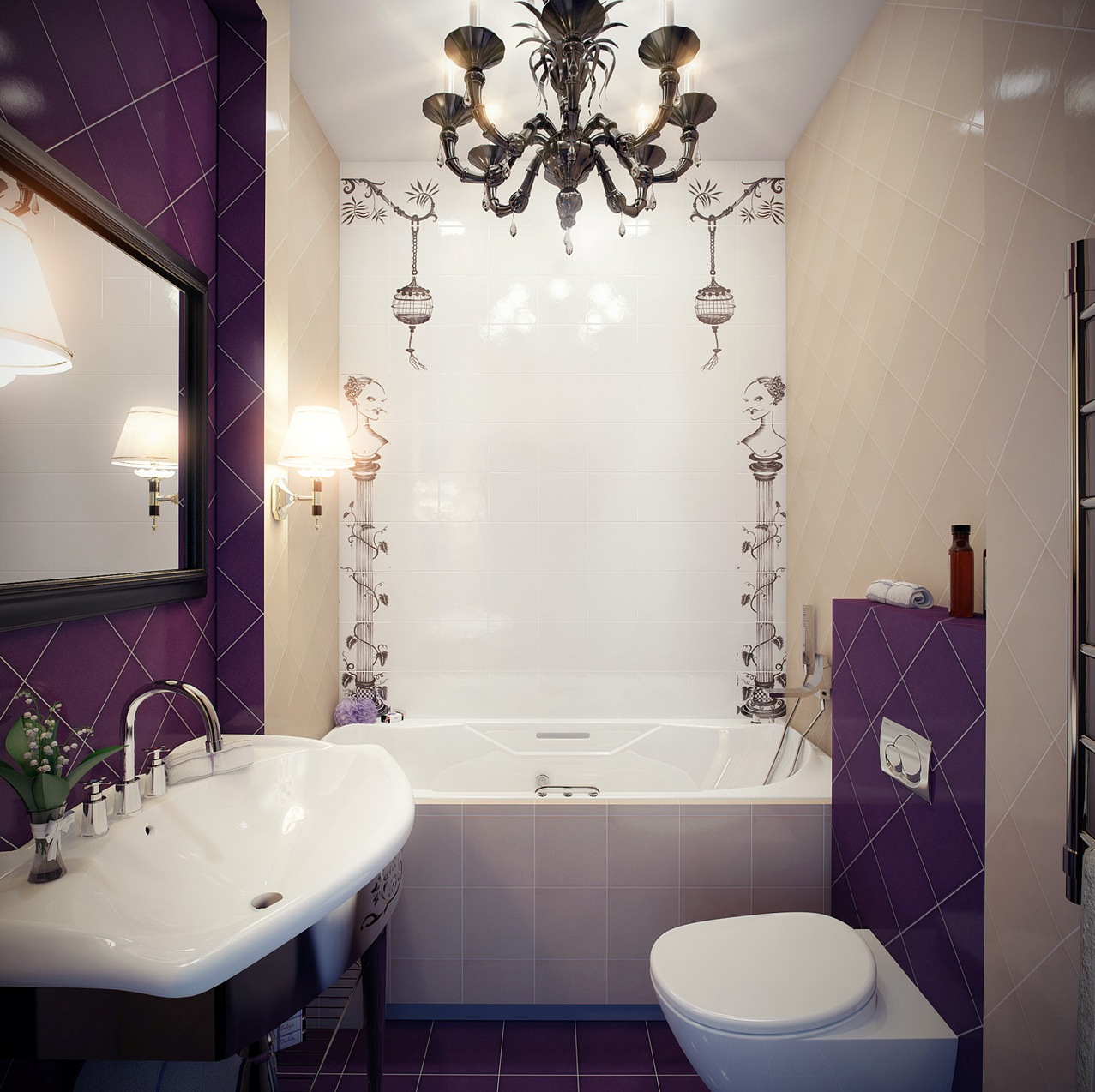 Дизайн маленькой ванной комнаты идеи советы рекомендации: Особенности интерьера маленькой ванной комнаты