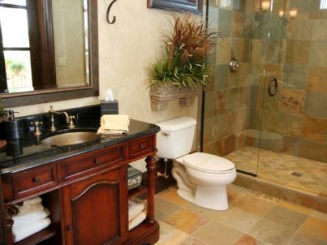 Креативный дизайн ванной комнаты 2015 года (73 фото)