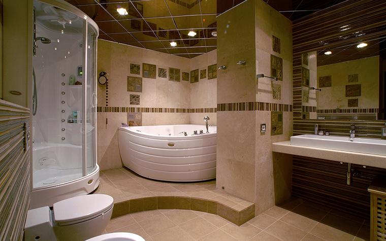 Акриловые ванны в интерьере