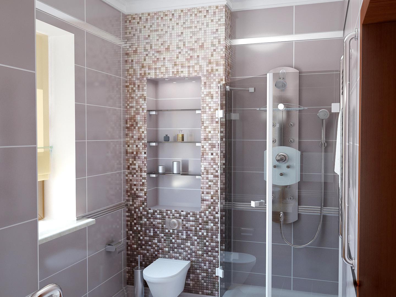 Душевые стеклянные перегородки в ванную комнату на заказ в Москве